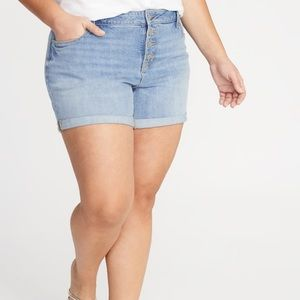 NWT Old Navy 26 High waist Secret Slim Jean Shorts